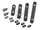 MPOE Polymer Rail Sections Zwart (Element)