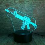 OP=OP 3D Illusie Lamp M4 (7 kleuren instelbaar)