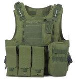 Compleet tactical vest met quick release functie