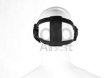 OP=OP PTG Mesh Mask Death Head Zwart_