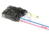 WADSN DBAL-A2 Illuminator / Laser Module Blue + IR Aluminium_