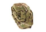 Warrior Medium Horizontal MOLLE Pouch Zipped (Multicam)_