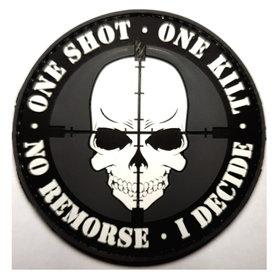 Patch One Shot One Kill (PVC)