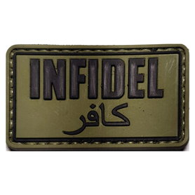 Patch Infidel Groen (PVC)