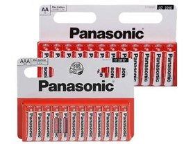 Batterijen 12x AAA (Panasonic)