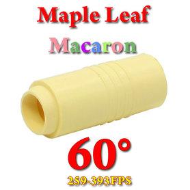 Hop Up Rubber Macaron 60° (Maple Leaf)
