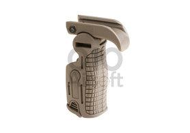 Foldable Grip AB163 Dark Earth (FMA)