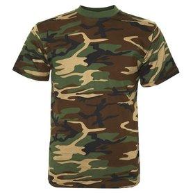T-Shirt Fostee Camo Woodland (Fostex)