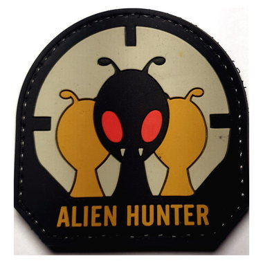 Patch Alien Hunter (PVC)