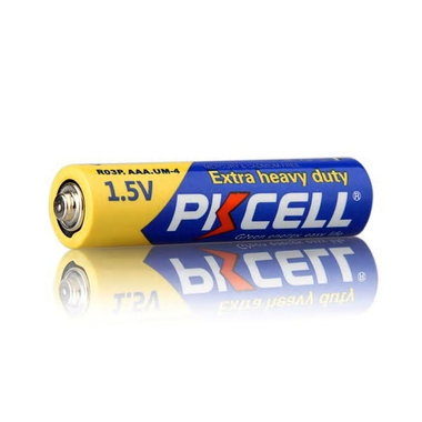 Batterijen AAA 1.5V PKCELL Heavy Duty 4 stuks