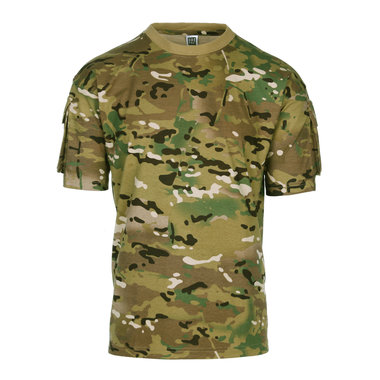 T-shirt Tactical Pocket Multicam (101 INC)