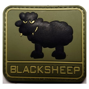 Patch Blacksheep (PVC)