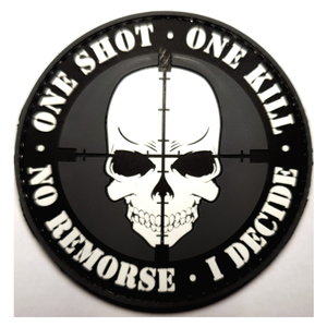 Patch One Shot One Kill (PVC)