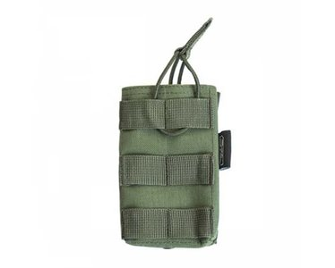PTG Single M4 5.56 magazine pouch Tan OD Zwart Black
