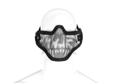 OP=OP PTG Mesh Mask Death Head Zwart
