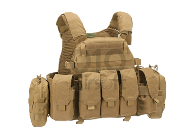 """Plate Carrier """"DCS 5.56 Config"""" Coyote (Warrior)"""