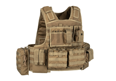 """Plate Carrier """"Mod Carrier Combo"""" Coyote (Invader Gear)"""