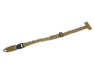 PTG 1 Point Modular Bungee Sling met quick release coyote tan od groen