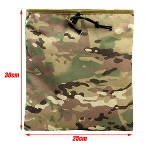Dump pouch molle multicam tan zwart