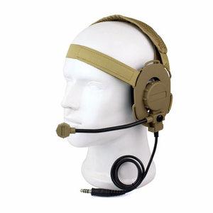 Tactical Headset III met NATO plug